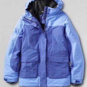 NWOT Lands End Toddler Squall Parka - 3T